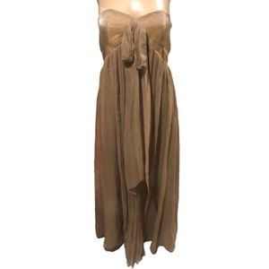 LAUNDRY BY SHELLI SEGAL: strapless dress